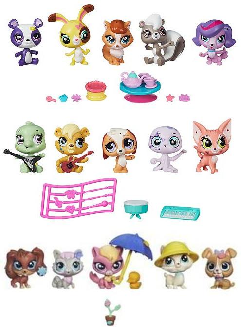 Игровой набор Littlest Pet Shop мини B0282