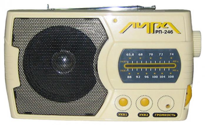 Радиоприемник ИРЗ Лира РП-246