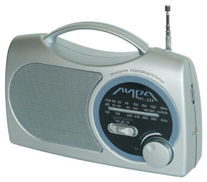 Радиоприемник ИРЗ Лира РП-234-1