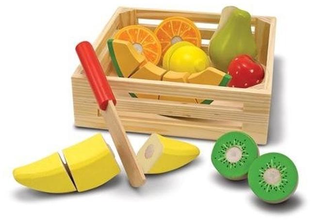 Набор Melissa&Doug Готовь и играй: Набор порезанных фруктов 4021M