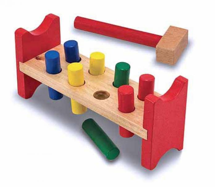 Набор Melissa&Doug Классические игрушки: Забить в лунки 496