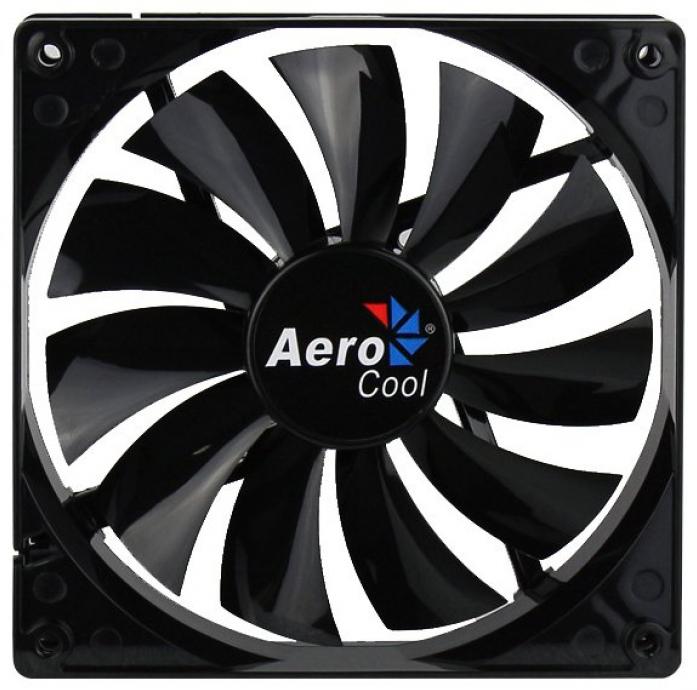 Вентилятор для корпуса AeroCool Dark Force Black 140mm