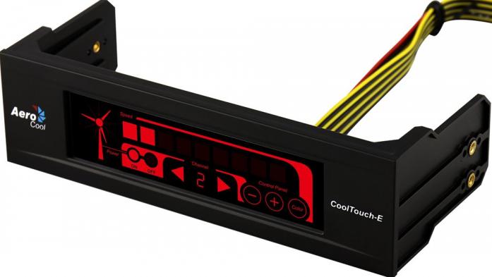 Контроллер вентиляторов (реобас) AeroCool CoolTouch-E Black