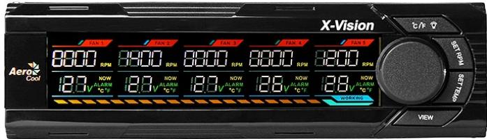 Контроллер вентиляторов AeroCool X-VISION
