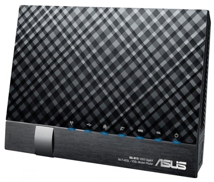 Wi-Fi-ADSL2+ точка доступа (роутер) ASUS DSL-N17U