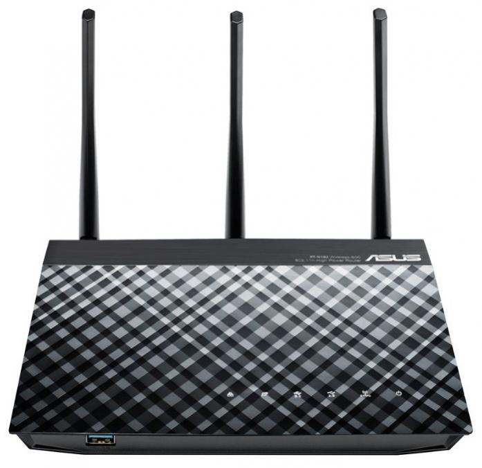 Wi-Fi маршрутизатор (роутер) ASUS RT-N18U