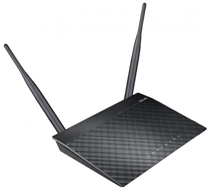 Wi-Fi маршрутизатор (роутер) ASUS RT-N12 VP Black