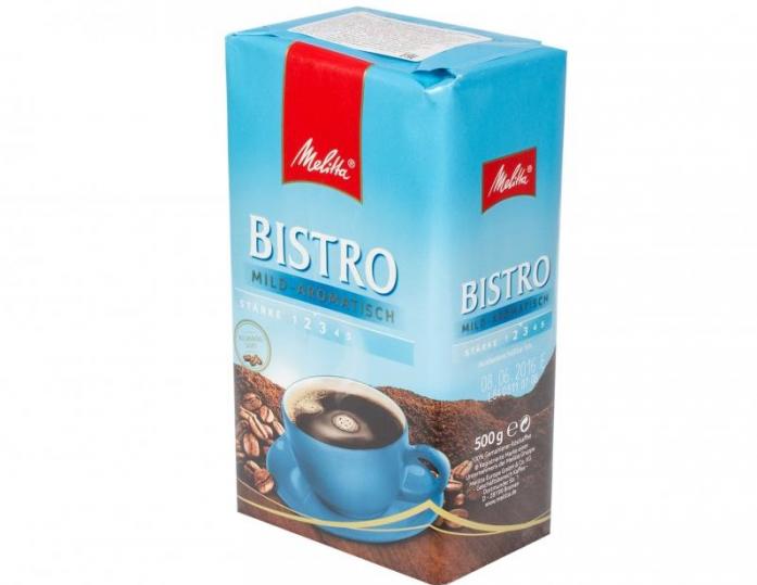 Кофе Melitta Bistro mild-aromatisch 13427, 500г