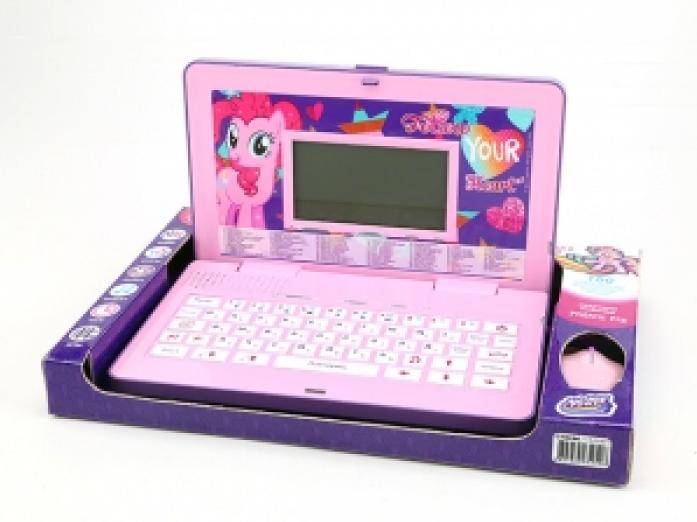 Компьютер детский Hasbro My Little Pony русско-английский 80 функций GT8246
