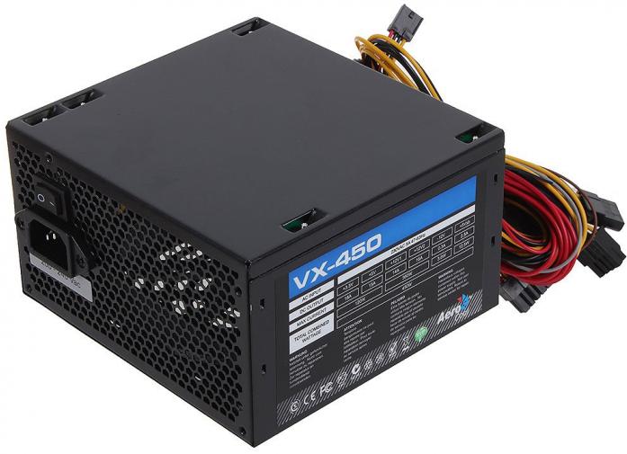 Блок питания 450W AeroCool VX-450