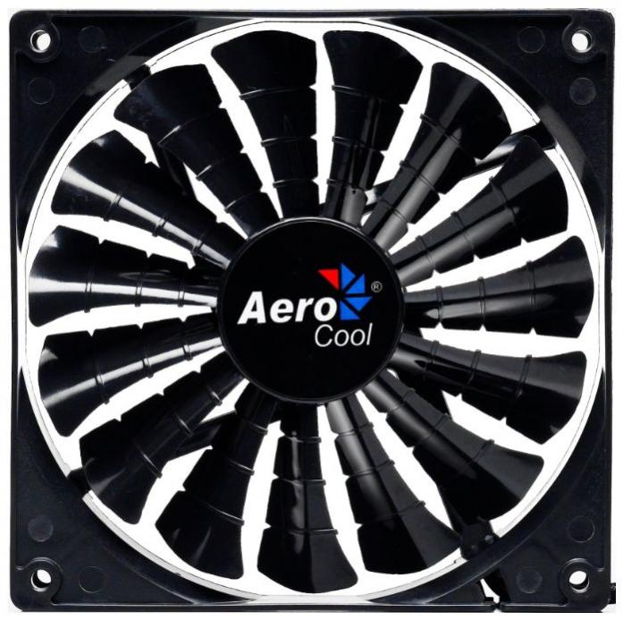 Вентилятор для корпуса AeroCool Shark Fan Black Edition 120