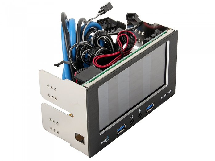 Контроллер вентиляторов (реобас) AeroCool Touch 2100 (EN51965)