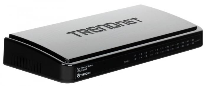 Коммутатор (switch) TRENDnet TE100-S24D