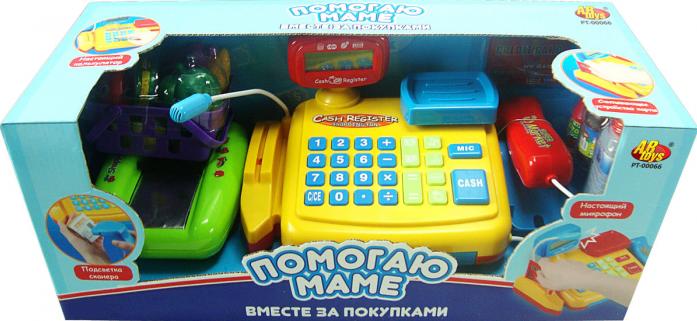 Игровой набор Rinzo Помогаю Маме: касса со звуковыми эффектами и аксессуарами PT-00066