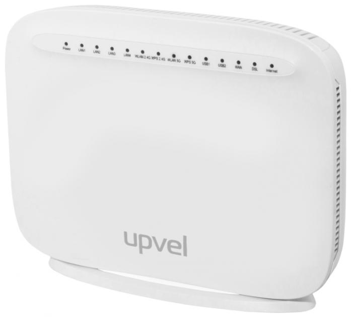 Wi-Fi-ADSL2+ точка доступа (роутер) Upvel UR-835VCU