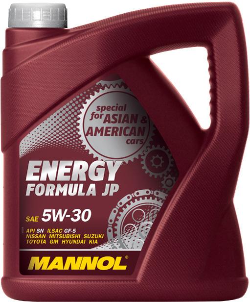 ����� �������� MANNOL Energy Formula JP 5W30 ���� (4�) 1060