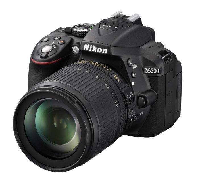 Цифровой фотоаппарат NIKON D5300 KIT 18-105 VR Black