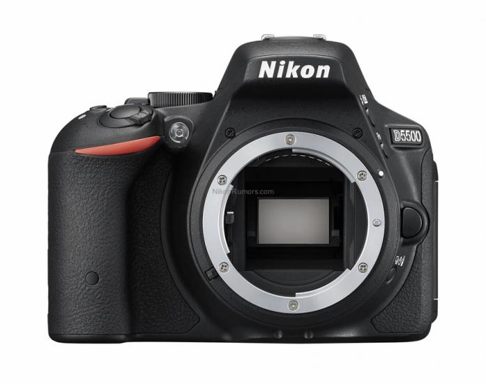 Цифровой фотоаппарат NIKON D5500 KIT 18-105 VR Black