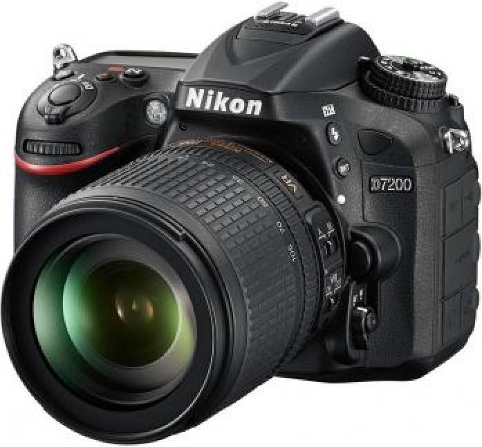 Цифровой фотоаппарат NIKON D7200 18-105 VR Black