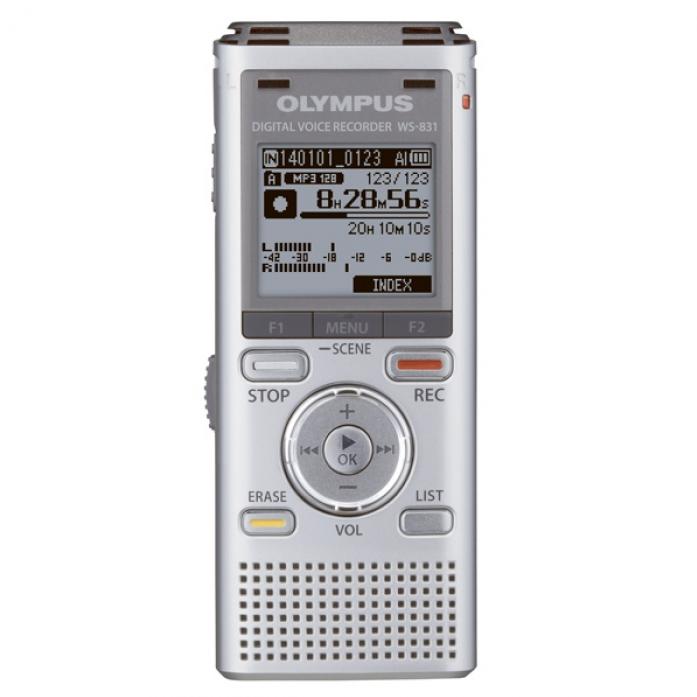 Цифровой диктофон OLYMPUS WS-831 Silver