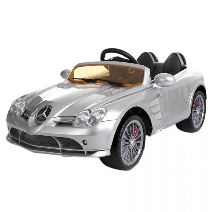Электромобиль Shine Ring Mercedes SLR Mclaren 12V/7Ah Белый(Серебро) DMD-722S