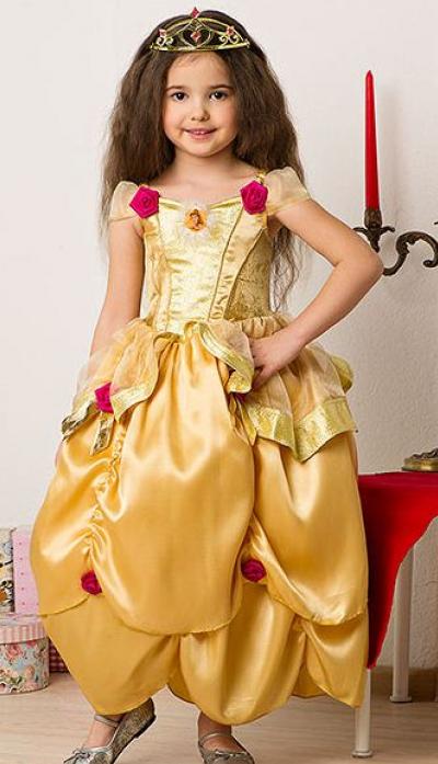 Платье белль своими руками