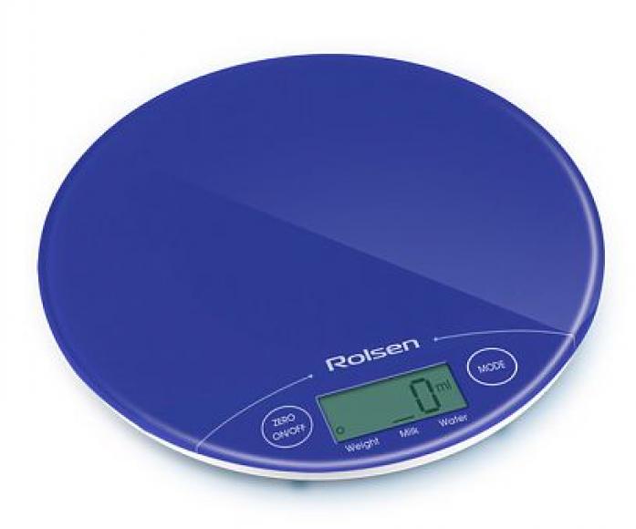 Кухонные весы Rolsen KS 2906BLUE