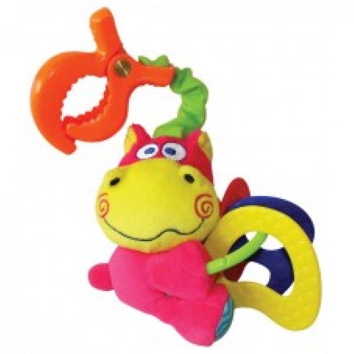 Игрушка-подвеска Мир Детства Бегемотик 33246