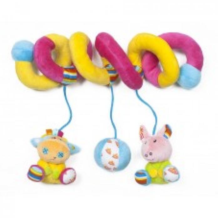 Игрушка-подвеска Мир Детства Хрюнтик и Виолетта Волшебный цирк 33295