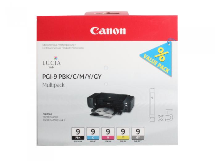 Картридж Canon PGI-9 PBK/C/M/Y/GY