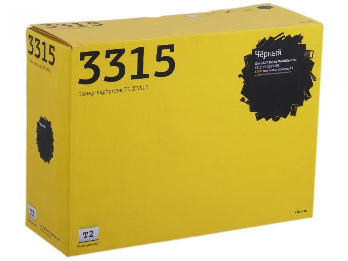 Картридж T2 TC-X3315 для Xerox WorkCentre 3315DN/3325DNI (5000 стр.) с чипом T2 TC-X3315