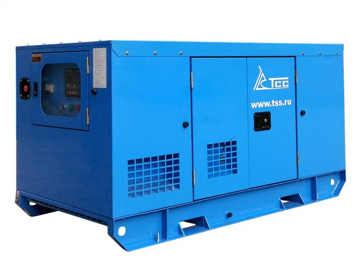 Дизельный генератор ТСС АД-12С-Т400-1РКМ5 в кожухе