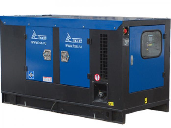 Дизельный генератор ТСС АД-24С-Т400-1РКМ10 в шумозащитном кожухе