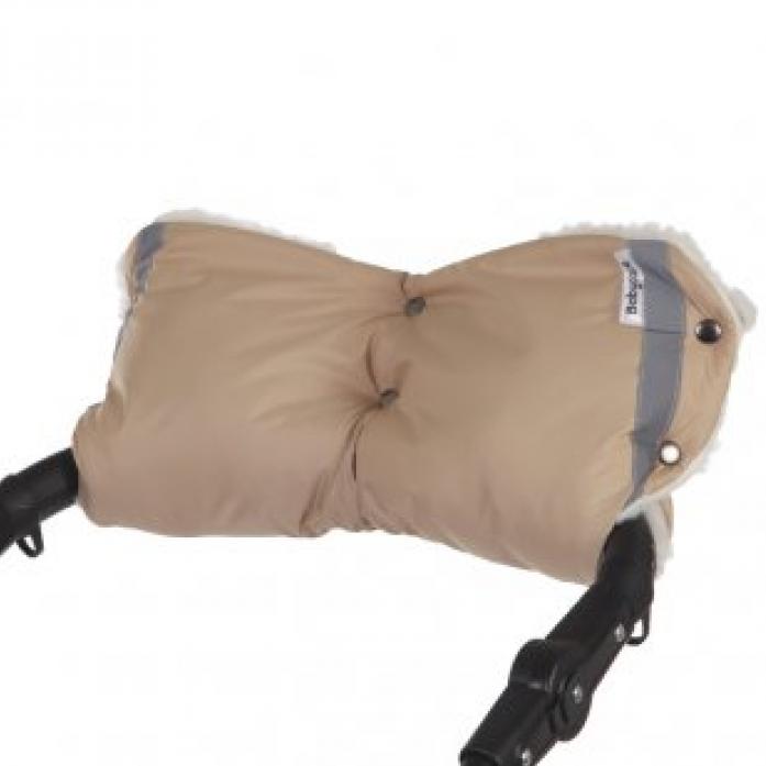 Муфта Baby Care Standard мех+плащевка бежевый 153
