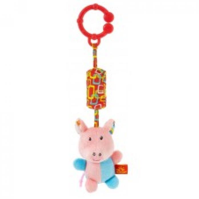 Игрушка-подвеска Мир Детства Акробат Хрюнтик Волшебный цирк 33314