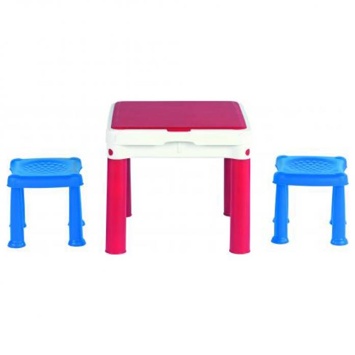 Стол Keter 3в1+2табуретки 17201603