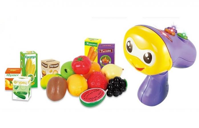 Обучающая игрушка ZHORYA Умняшка-сканер с тележкой ZY354027/ZYE-E0176