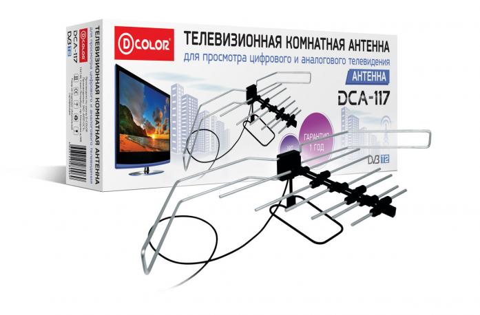 Комнатная антенна для цифрового телевидения своими руками