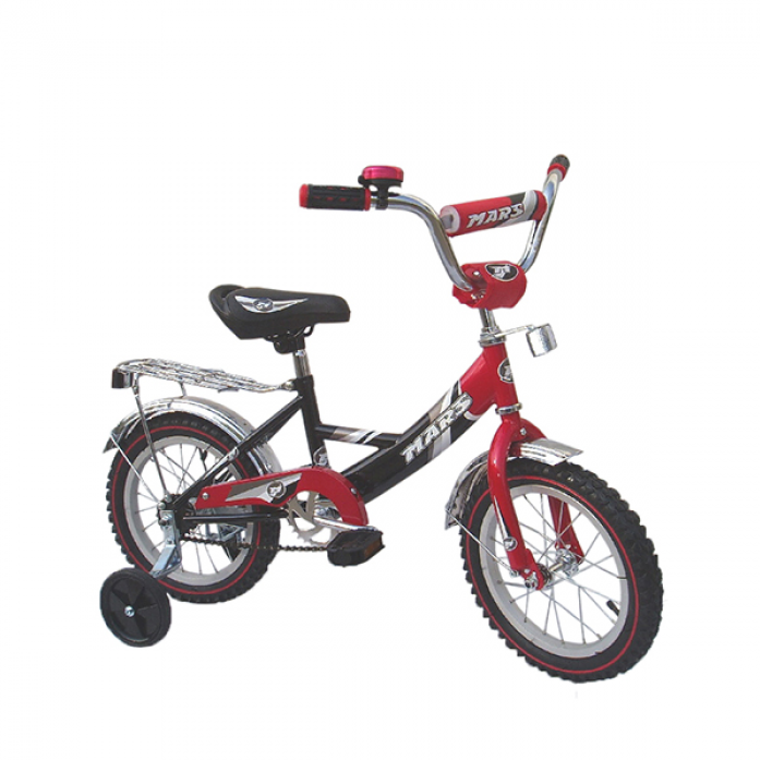 """Велосипед Mars 12"""" С1201 black/red"""