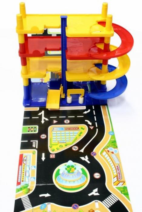 Игрушка Нордпласт Гараж Городской паркинг 431208