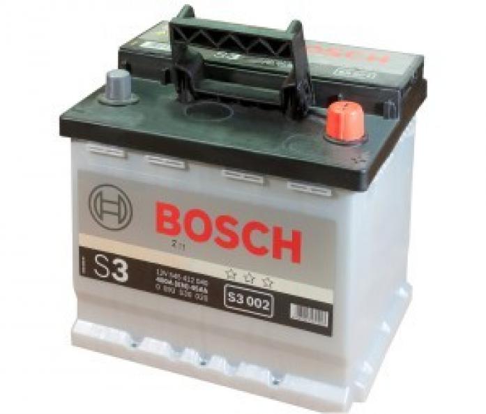 Аккумулятор Bosch 45 A/ч S30 02 ОБР