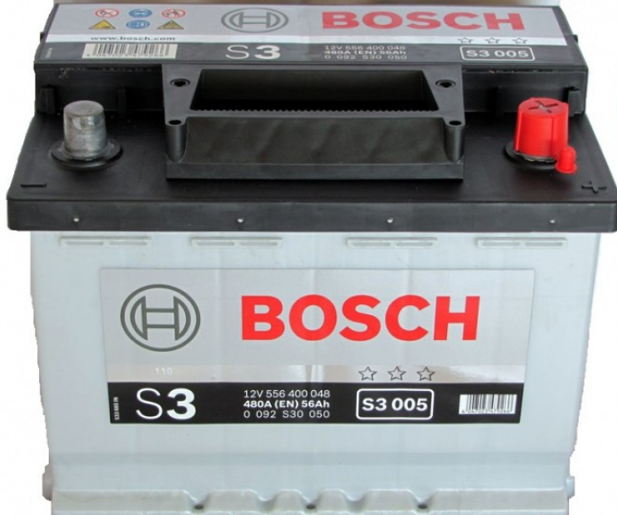 Аккумулятор Bosch 56 A/ч S30 05 ОБР