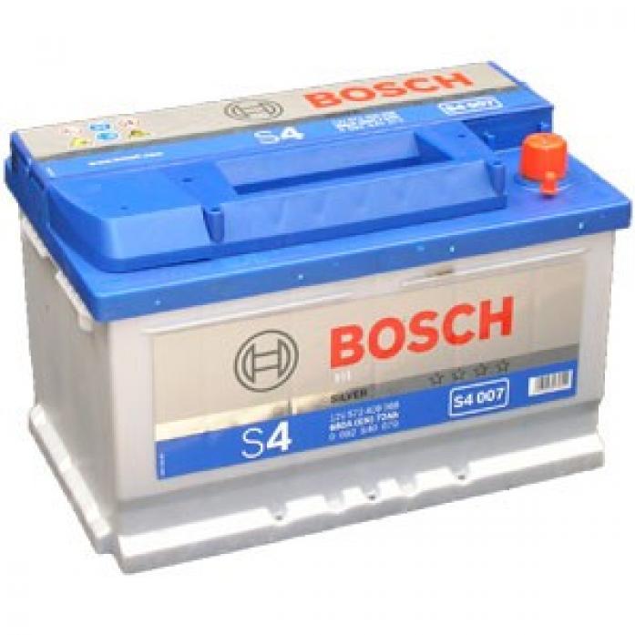 Аккумулятор Bosch 72 A/ч S40 07 ОБР