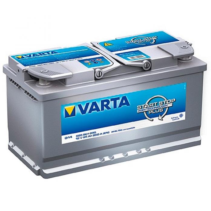 Аккумулятор VARTA SILVER AGM 95 А/ч 595901 ОБР