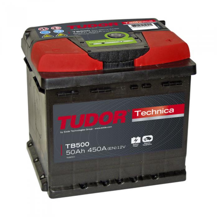 Аккумулятор Tudor Technica 50 А/ч TB500 ОБР