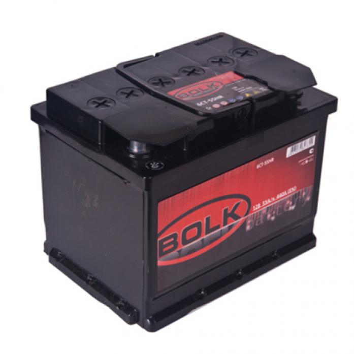 Аккумулятор BOLK 55 А/ч