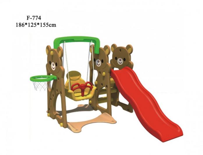 Игровой комплекс FAMILY Медвежата F-774