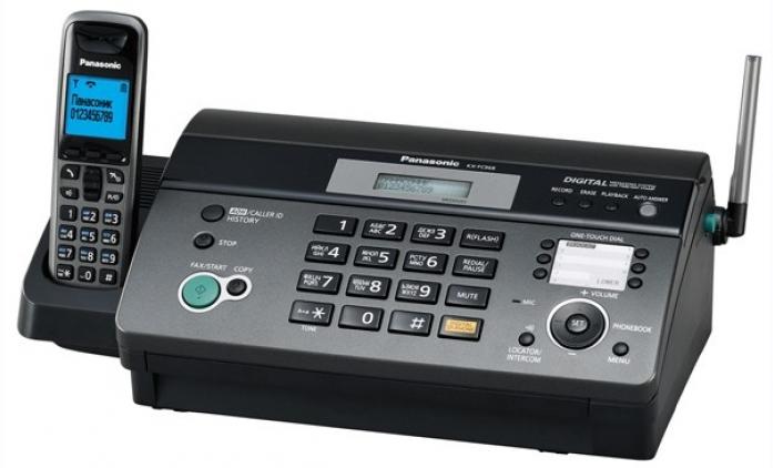Факс Panasonic KX-FC 968RUT