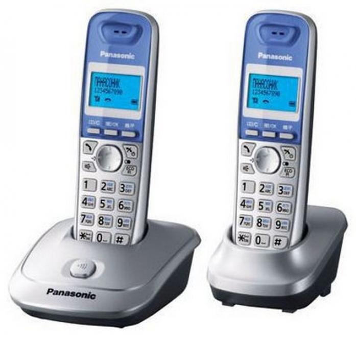 Радиотелефон Panasonic KX-TG 2512RUS