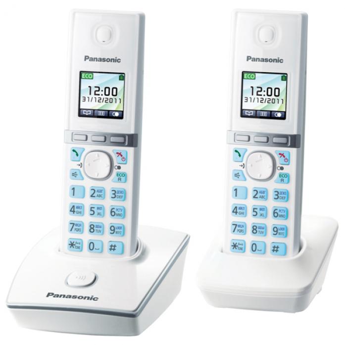 Радиотелефон Panasonic KX-TG 8052RUW